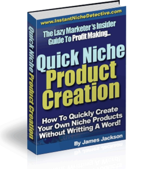 Product picture Quick Niche Product Creation - MRR