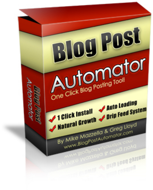 Product picture Blog Post Automator - MRR