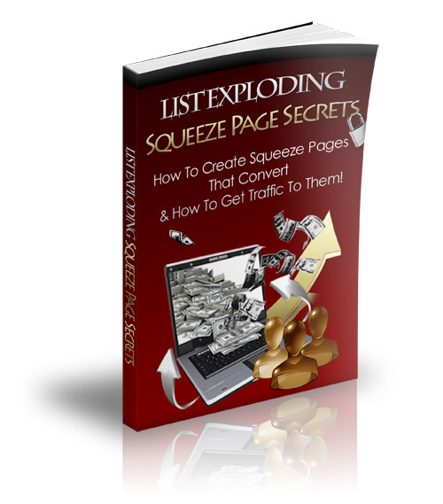 Product picture Squeeze Page Secrets - MRR