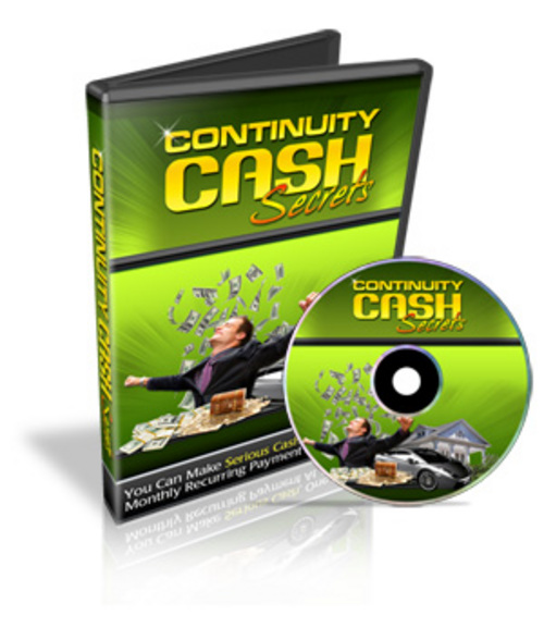Product picture Continuity Cash Secrets - Personal Use