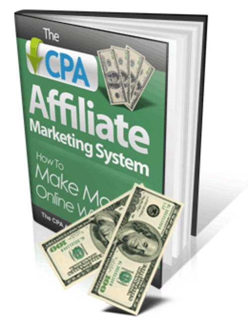 Product picture CPA Affiliate Marketing System - MRR